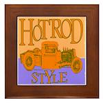 HOTROD STYLE Framed Tile