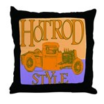 HOTROD STYLE Throw Pillow