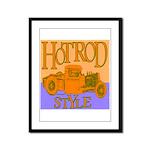 HOTROD STYLE Framed Panel Print