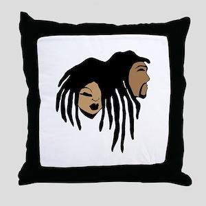 Kas-mik Throw Pillow