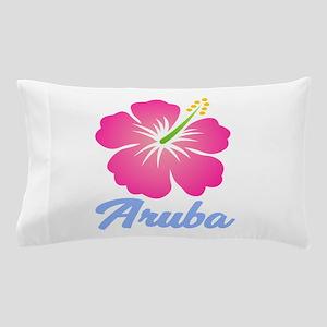 Aruba Flower Pillow Case