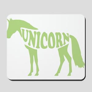 Dabbing Unicorn Mousepad