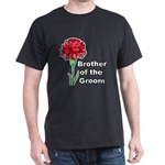 Brother of the Groom Dark T-Shirt