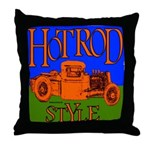 HOTRODSTYLE 2 Throw Pillow