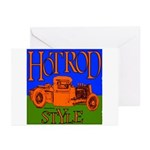 HOTRODSTYLE 2 Greeting Cards (Pk of 10)