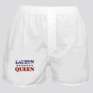 LAURYN for queen Boxer Shorts