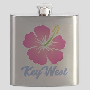Key West Flower Flask