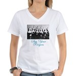 Say Your Prayers Women's V-Neck T-Shirt