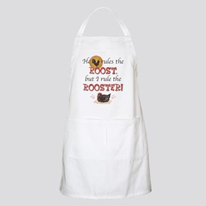 Rules The Rooster BBQ Apron