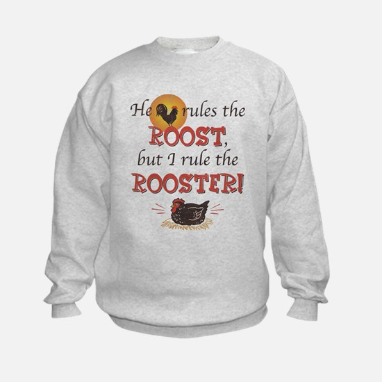 Rules The Rooster Sweatshirt