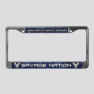 SAVAGE NATION - Digital Eagle License Plate Frame