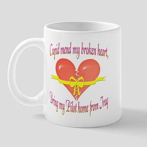 Broken Heart Pilot Mug