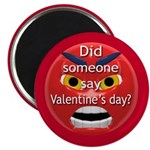 Angry Valentines Day Magnet