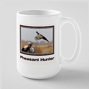 Pheasant Hunter Large Mug
