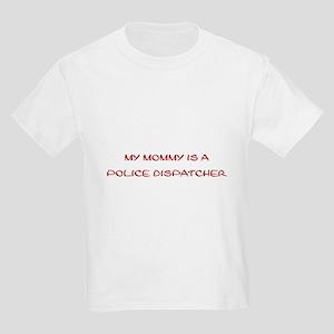 Police Dispatcher Kids Light T-Shirt