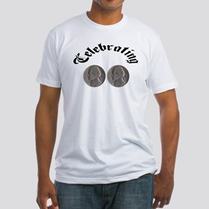 Celebrating the Double Nickle Fitted T-Shirt