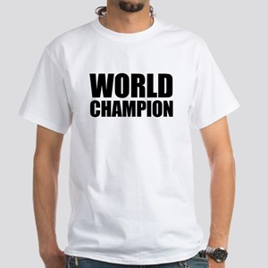 World Champion White T-Shirt