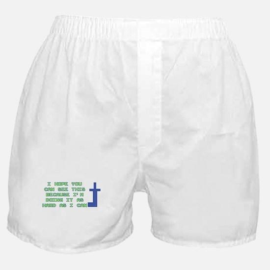 Mooninite Finger Boxer Shorts