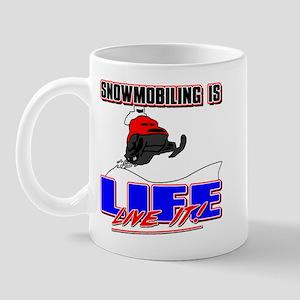 Snowmobile Life Mug