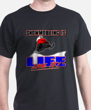 Snowmobile Life T-Shirt