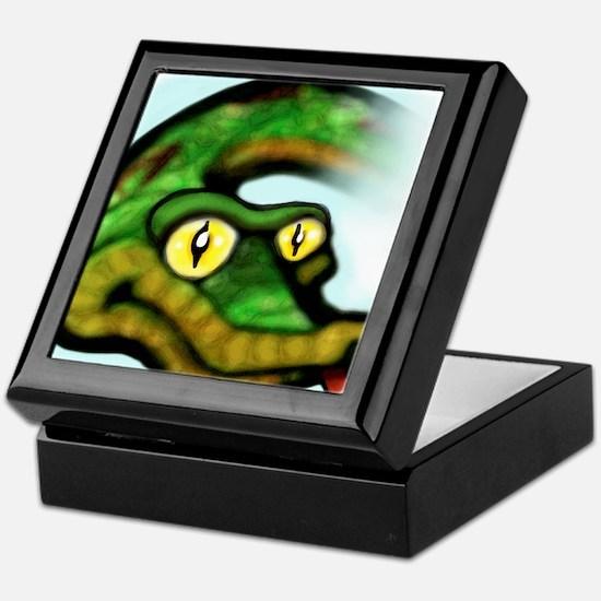 Cool Snake eyes Keepsake Box