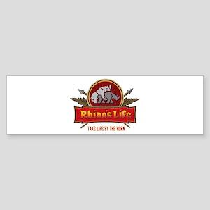 Rhino's Life Bumper Sticker