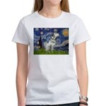 Starry Night / Dalmation Women's T-Shirt