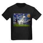 Starry Night / Dalmation Kids Dark T-Shirt