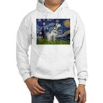 Starry Night / Dalmation Hooded Sweatshirt