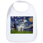 Starry Night / Dalmation Bib