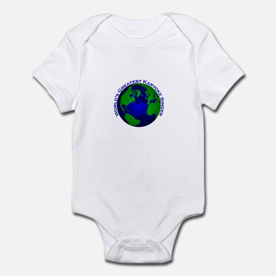 World's Greatest Karyoke Sing Infant Bodysuit