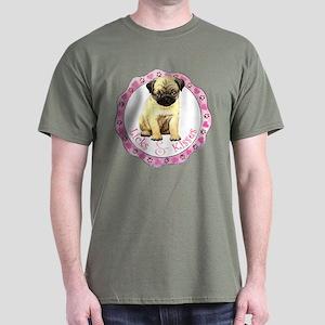 Pug Valentine Dark T-Shirt