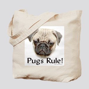 Pugs Rule Tote Bag