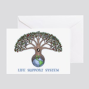 Life Support Greeting Card