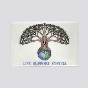 Life Support Rectangle Magnet