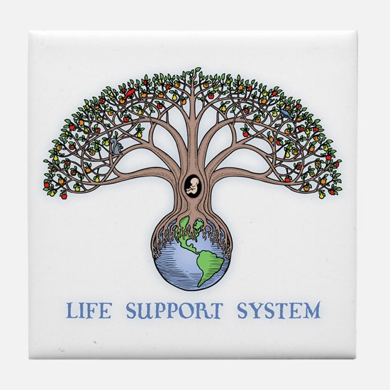Life Support Tile Coaster