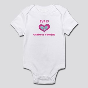 Eva is Grandma's Valentine Infant Bodysuit