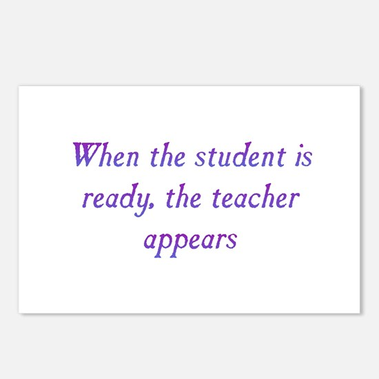 Student Is Ready Postcards (Package of 8)