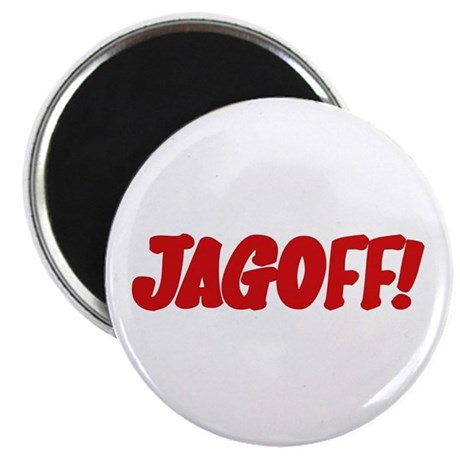 """Stupid Jagoff Driver 2.25"""" Rude Magnets (100 pack)"""