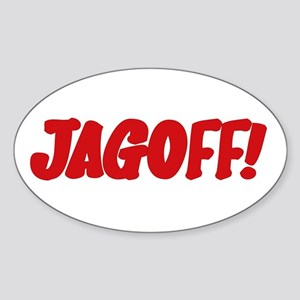 Stupid Jagoff Driver Oval Sticker