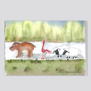 Hippo Birdie 2 Ewe Postcards (Package of 8)