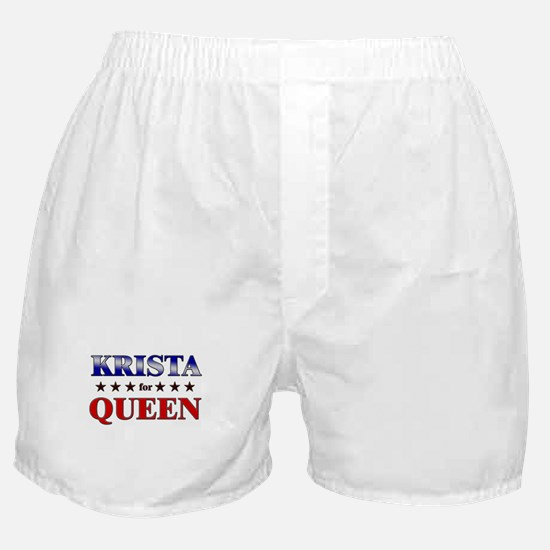 KRISTA for queen Boxer Shorts