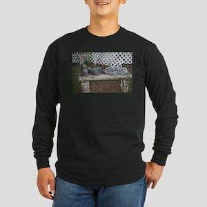 Stone Bench Long Sleeve Dark T-Shirt