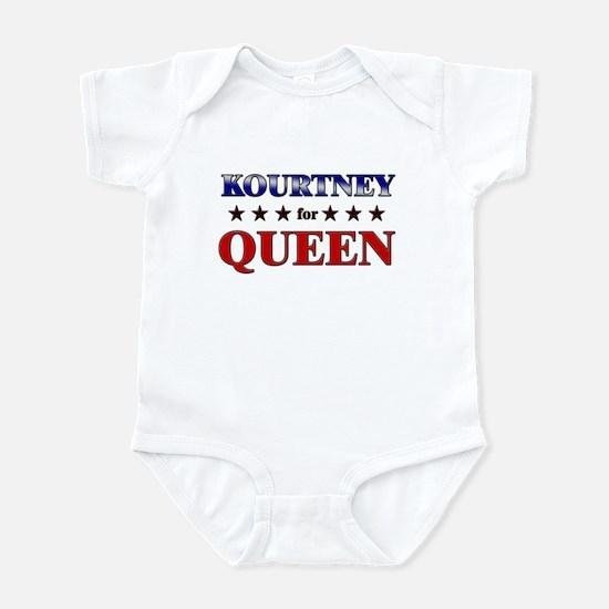 KOURTNEY for queen Infant Bodysuit