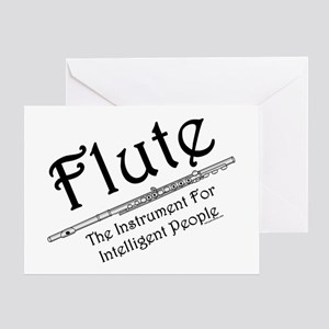 Intelligent Flute Greeting Card