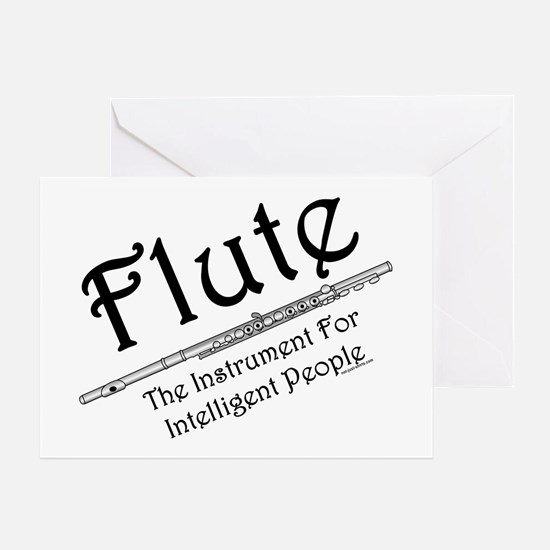 Intelligent Flute Greeting Card