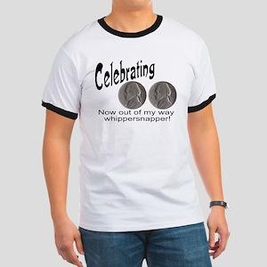 55 Birthday Whippersnapper Ringer T