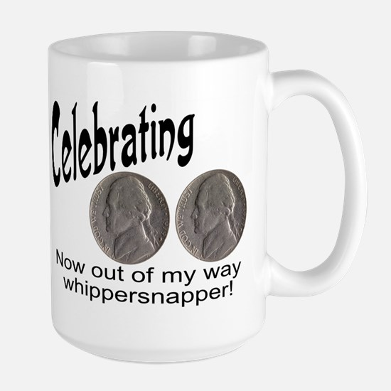 55 Birthday Whippersnapper Large Mug