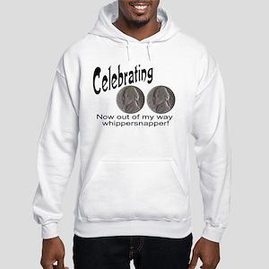 55 Birthday Whippersnapper Hooded Sweatshirt