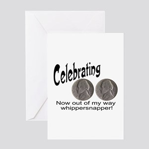 55 Birthday Whippersnapper Greeting Card
